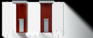 Raucherkabinen Indoor 2SP110 by Smoke Solution