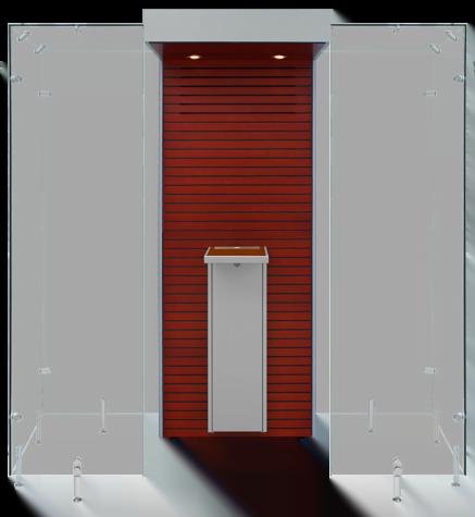 Raucherkabinen Indoor SP110 by Smoke Solution